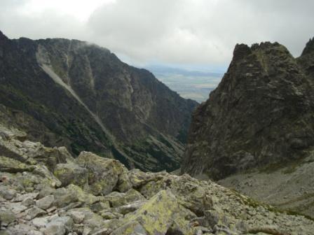 Stunning views in the High Tatras