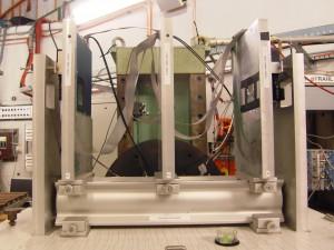 The ZEUS MVD strip telescope at DESY test beam