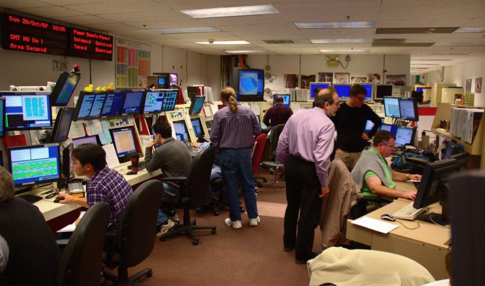 D0 Control Room