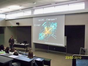 Presentation du LHC