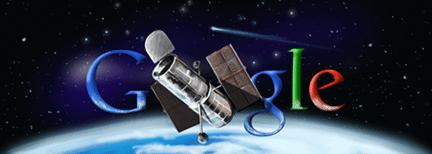 Google Celebrates Hubble
