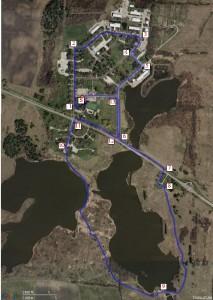 Running Path for Fermilab Triathlon