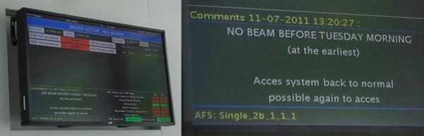 "LHC status ""Page 1"""