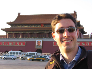 On Tiananmen Square, Beijing, China