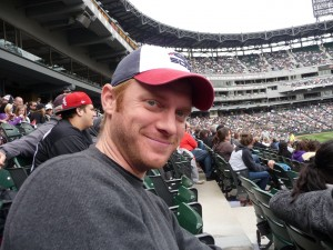 A younger me at the game!