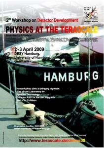 Terascale detector workshop poster.
