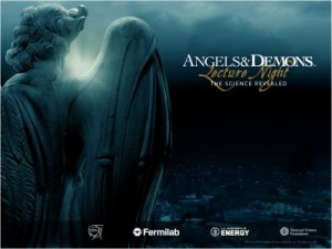 Angels & Demons lecture nights in the US.