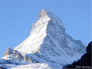 Every year tens of people die climbing the Matterhorn. I guess this only adds to its almost scary beaty.