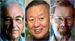 2009 Nobel Prize Winning Physicists From L to R: Willard S. Boyle, Charles K. Kao, and George E. Smith.