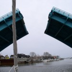 State Street draw bridge in Racine, WI