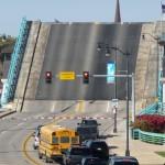 Main Street bridge from Main Street.