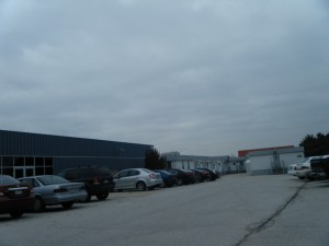 CDF Trailers (As seen from the parking lot)