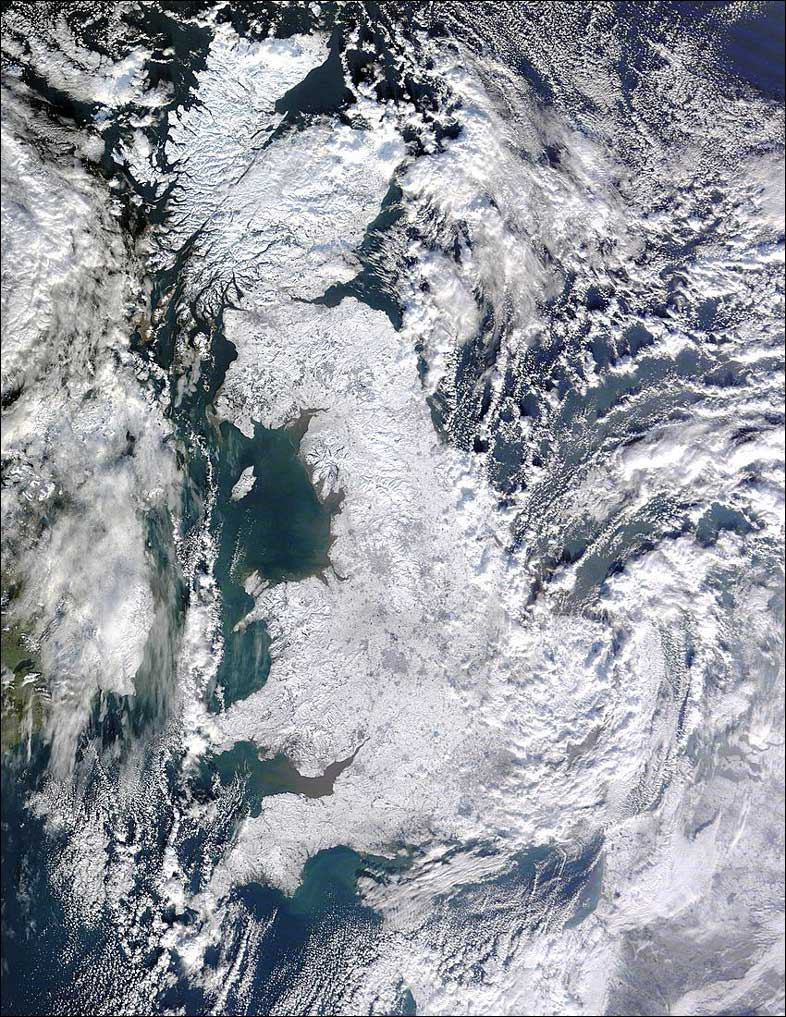 A view of our frozen UK: Taken from BBC News Online