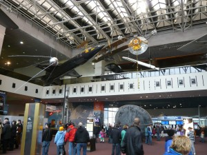 Entrance of the Smithsonian National Air and Space Museum