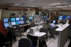 Snapshot of the CDF control room