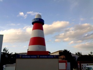 Lighthouse near Munich... what's wrong with that picture?