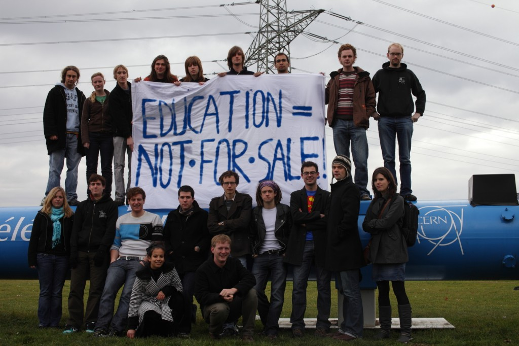 UK PhD students at CERN voice their concern