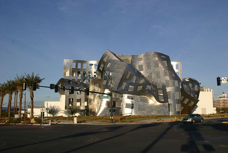 Frank Gehry designed Lou Ruvo Center for Brain Health