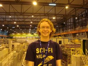 Finally landed at CERN!