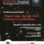 Affiche Conférence Perlmutter