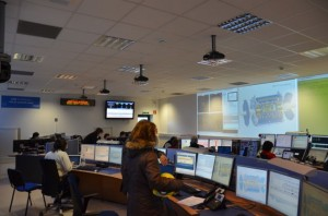 We started our shift with a briefing in the ATLAS Control Room.