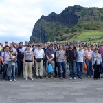 VERTEX 2012 Conference attendees at Sunrise Peak, Jeju. From http://vertex2012.knu.ac.kr/photo_wednesday2.html - used with permission