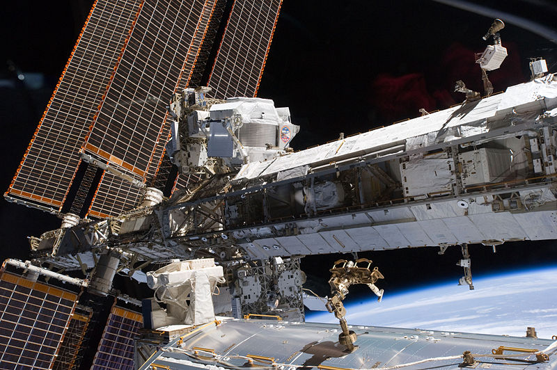 AMS-02 on the ISS (Wikipedia)