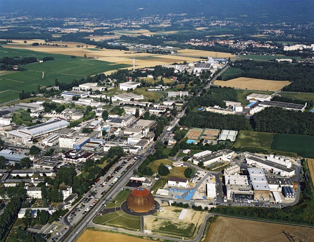 CERN's Meyrin site.
