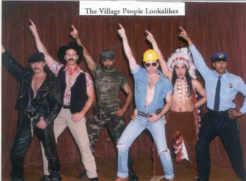 Village people wannabes