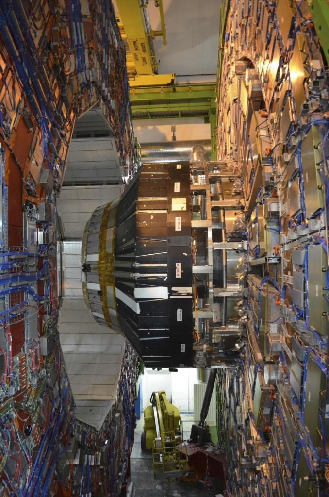 The gargantuan detector, CMS.