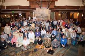 Many new international partners officially joined LBNE during the collaboration meeting earlier this month. Photo courtesy of Norm Buchanan