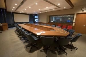 Fermilab's One East conference room. Photo: Reidar Hahn, Fermilab