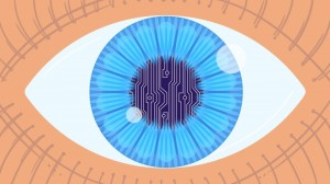 Silicon microstrip detectors, a staple in particle physics experiments, provide information that may be critical to restoring vision to some who lost it.