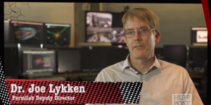 "Watch Fermilab Deputy Director Joe Lykken in the latest entry in Huffington Post's ""Talk Nerdy To Me"" video series."
