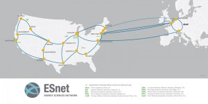 ESnet to build high-speed extension for faster data exchange between United States and Europe. Image: ESnet