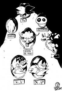 Xi_b resonances, depicted by Lison Bernet.