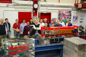Argonne National Laboratory was attracted to the expertise of this Fermilab magnet team. The team recently developed a pre-prototype magnet for Argonne's APS Upgrade Project. Photo: Doug Howard, Fermilab